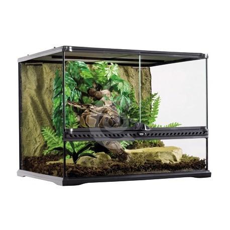 terrarium en verre pour reptiles et amphibiens myvetshop. Black Bedroom Furniture Sets. Home Design Ideas
