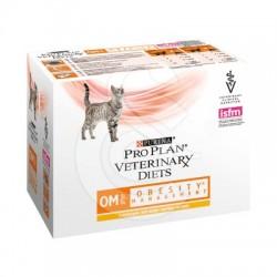 PPVD Feline OM Stox Obesity Chicken Sachet repas