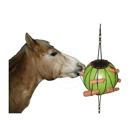 Balle à jouer thérapeutique pour chevaux à suspendre