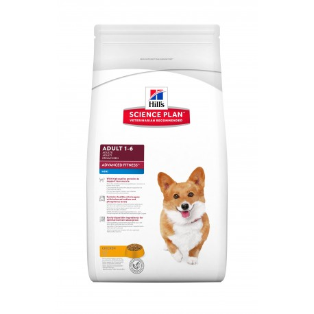 Science Plan Canine Adult Advanced Fitness Mini with Chick