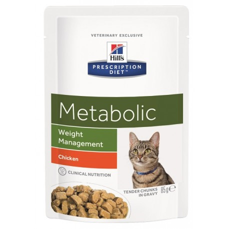 Prescription Diet Feline Metabolic (sachets)
