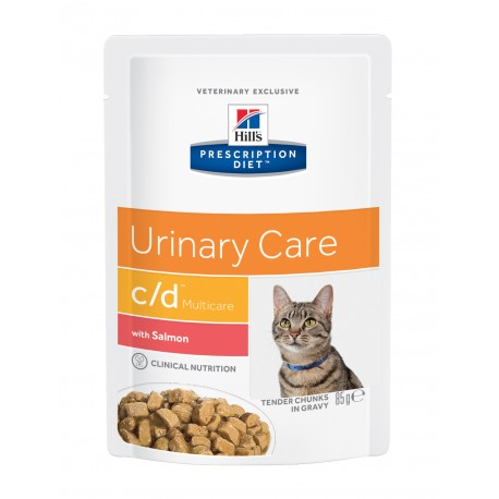 Prescription Diet Feline cd Multicare with Salmon