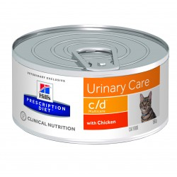 Prescription Diet Feline cd Multicare Minced with Chicken