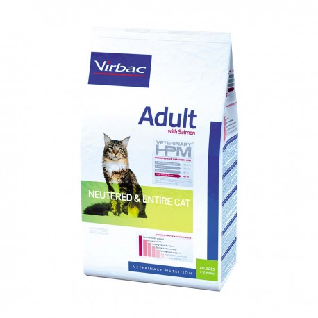 Veterinary HPM Adult Neutered & Entire Cat - Saumon