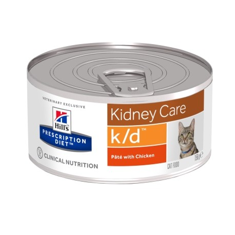 Prescription Diet Feline kd Minced with Chicken