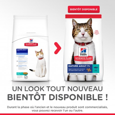 Feline Mature Thon Vitalite Et Longevite