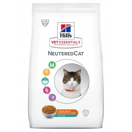 Vet Essentials Young Adult NeuteredCat Thon