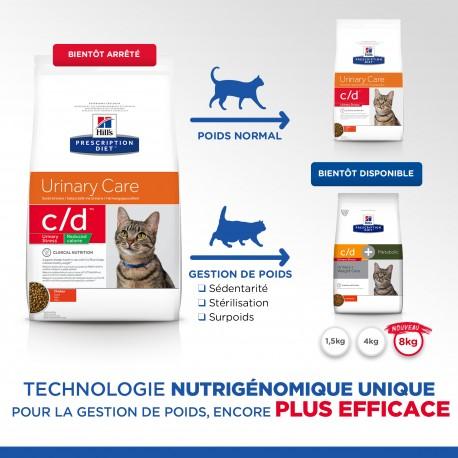 Prescription Diet Feline cd Urinary St. Reduc. Cal. Chicken