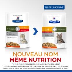 Feline Metabolic + Urinary Stress Poulet (Sachet repas)