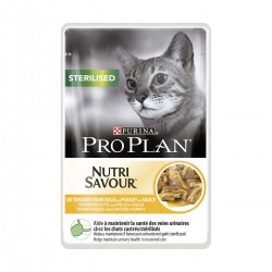 Cat Sterilised Chicken Nutri Savour (Poulet en Sauce)