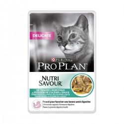 Proplan Cat Delicate Poisson Sauce Sachet repas