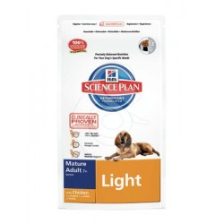 Science Plan Canine Mature Adult 7+ Light with Chicken