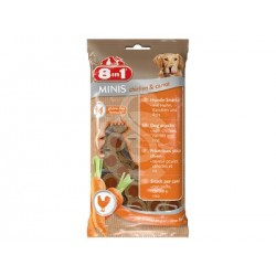 Friandises 8in1 Minis Poulet & Carottes